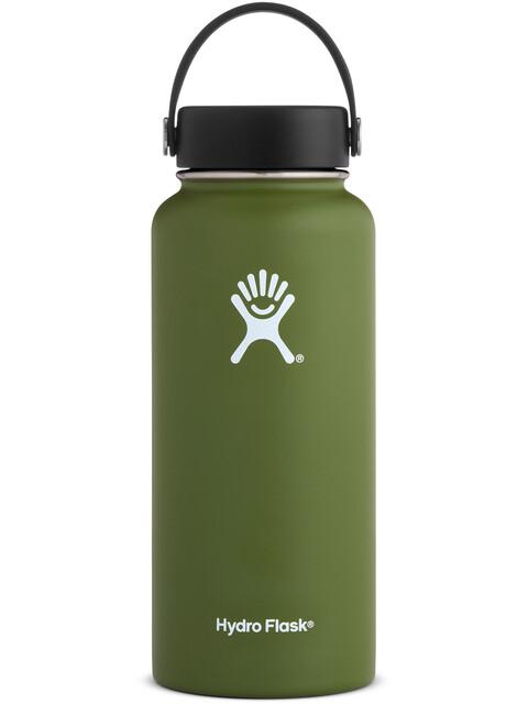 Hydro Flask Wide Mouth Flex Bottle 946ml Olive